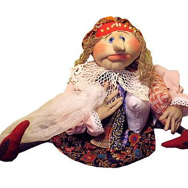 Куклы и игрушки ручной работы. Ярмарка Мастеров - ручная работа Баба Яга с подушками. Handmade.