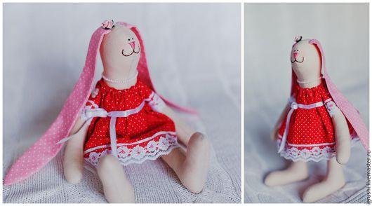 Куклы Тильды ручной работы. Ярмарка Мастеров - ручная работа. Купить Зайка. Handmade. Подарок, подарок на любой случай