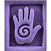 """Материалы для творчества ручной работы. Ярмарка Мастеров - ручная работа Штамп для мыла """"Рука"""" Milky Way. Handmade."""