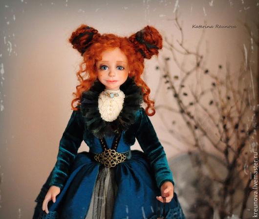 Коллекционные куклы ручной работы. Ярмарка Мастеров - ручная работа. Купить Николета. Handmade. Морская волна, подарок ручной работы