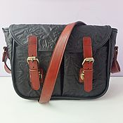 Сумки и аксессуары handmade. Livemaster - original item Leather bag shoulder on Amazon. Handmade.