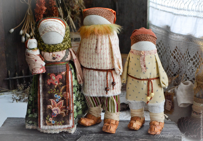 Традиционная кукла обереги своими руками