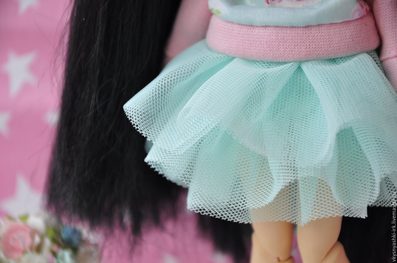 Юбка пачка для куклы мастер класс 4