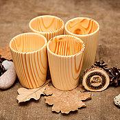 Посуда handmade. Livemaster - original item Set of Wooden bowls (4pcs) 100%#14. Handmade.