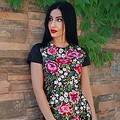 Одежда handmade. Livemaster - original item Unique dress with hand embroidery