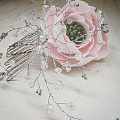 Свадебный салон ручной работы. Ярмарка Мастеров - ручная работа Украшения для свадебной (вечерней) прически. Handmade.