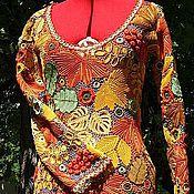 """Одежда ручной работы. Ярмарка Мастеров - ручная работа Платье """" Краски осени """" продано. Handmade."""