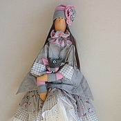 Куклы Тильда ручной работы. Ярмарка Мастеров - ручная работа Кукла тильда Кристина. Handmade.