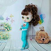 Куклы и игрушки ручной работы. Ярмарка Мастеров - ручная работа Блайз Мятная фея. Handmade.