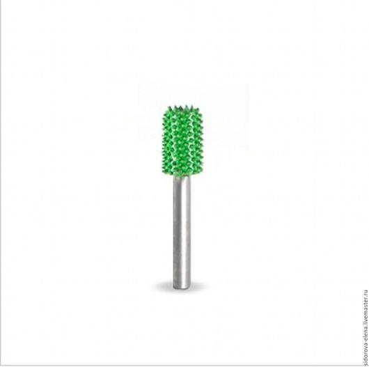 Другие виды рукоделия ручной работы. Ярмарка Мастеров - ручная работа. Купить Сабурр цилиндр зеленый. Handmade. Зеленый, инструменты