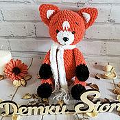 Куклы и игрушки handmade. Livemaster - original item Fox toy. Handmade.