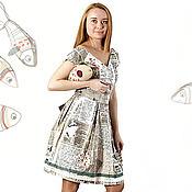 Одежда handmade. Livemaster - original item Retro Dress-the