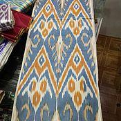 Материалы для творчества handmade. Livemaster - original item Uzbek cotton ikat hand weaving. F058. Handmade.