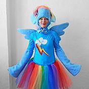 Одежда handmade. Livemaster - original item Rainbow Dash Pony. Animator-actor  suit. Handmade.