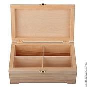 Материалы для творчества handmade. Livemaster - original item 241410 (4) jewelry Box 24 14 10 cm (4 Yach. ) for jewelry, tea. Handmade.