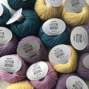 Пряжа ручной работы. Ярмарка Мастеров - ручная работа Drops Cotton Merino. Handmade.