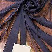 Материалы для творчества handmade. Livemaster - original item Versace crepe silk-dark blue. Handmade.