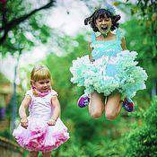 Работы для детей, ручной работы. Ярмарка Мастеров - ручная работа Комплекты с юбочкой американкой для принцесс :) ). Handmade.