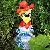 Кукольная еда ручной работы. Ярмарка Мастеров - ручная работа Пасхальная Курочка Ряба. Handmade.