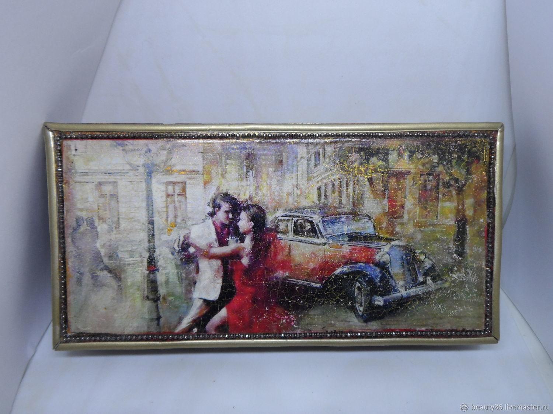 Шкатулка - купюрница Танго вдвоем, Шкатулки, Санкт-Петербург, Фото №1