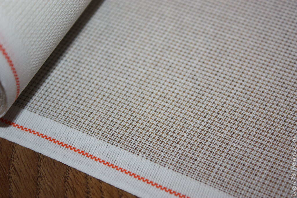Накладная канва: как вышивать на накладной канве - Рукоделие 13