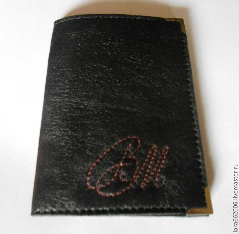 Passport cover, leather cover, cover made of genuine leather, personalized passport cover, handmade, Lara & Ko