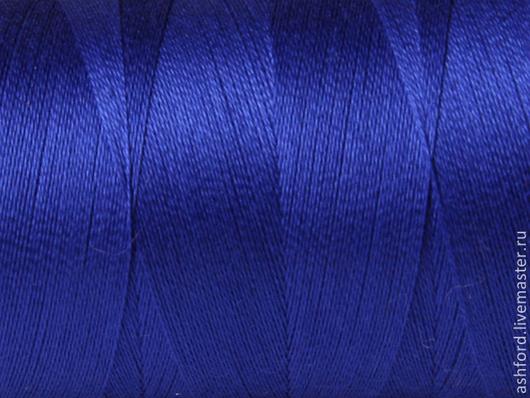 Другие виды рукоделия ручной работы. Ярмарка Мастеров - ручная работа. Купить Нитки для ткачества Хлопковые - синий.. Handmade. Синий