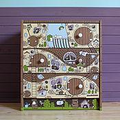Для дома и интерьера ручной работы. Ярмарка Мастеров - ручная работа Комод-дом детский. Handmade.