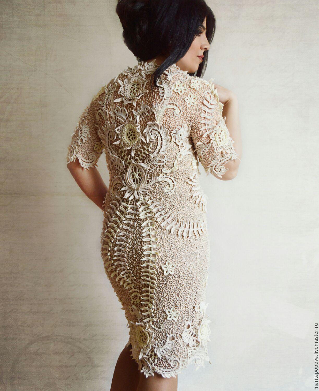 что подобная плаття з ирландским кружевом фото отдельный вид