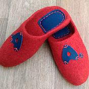 Обувь ручной работы handmade. Livemaster - original item Personalized Slippers with the initials. Handmade.