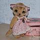 Мишки Тедди ручной работы. Заказать Кошечка Николь. Irene Gromi (Teddy Art Boutique). Ярмарка Мастеров. Кошка, хендмейд