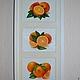 Картины цветов ручной работы. Ярмарка Мастеров - ручная работа. Купить картина масло Апельсинки. Handmade. Рыжий, апельсин, масло