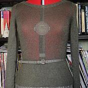 Одежда ручной работы. Ярмарка Мастеров - ручная работа Тонкий кид-мохеровый пуловер. Handmade.