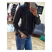 Одежда ручной работы. Ярмарка Мастеров - ручная работа Курточка из натуральной кожи BlackJack. Handmade.