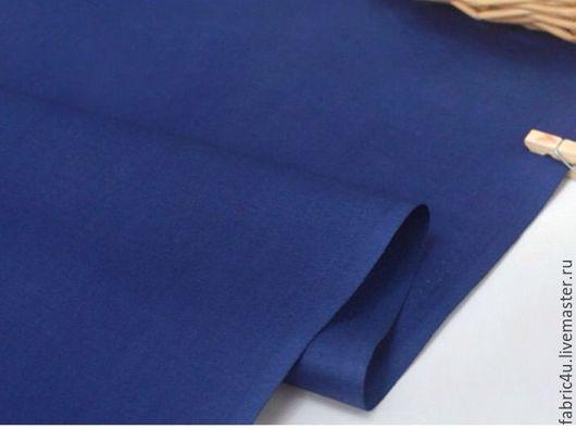 Шитье ручной работы. Ярмарка Мастеров - ручная работа. Купить Темно-синий хлопок. Южная Корея. Handmade. Тёмно-синий