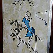 Картины и панно ручной работы. Ярмарка Мастеров - ручная работа Отпускное настроение. Handmade.