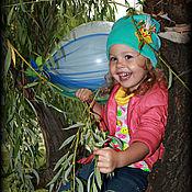 """Работы для детей, ручной работы. Ярмарка Мастеров - ручная работа Шапка для девочки """"Сова Очаровашка"""". Handmade."""