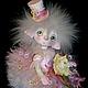Коллекционные куклы ручной работы. Заказать кукла Розочка полимерная глина. Маргарита Дроздова. Ярмарка Мастеров. Коллекционная кукла