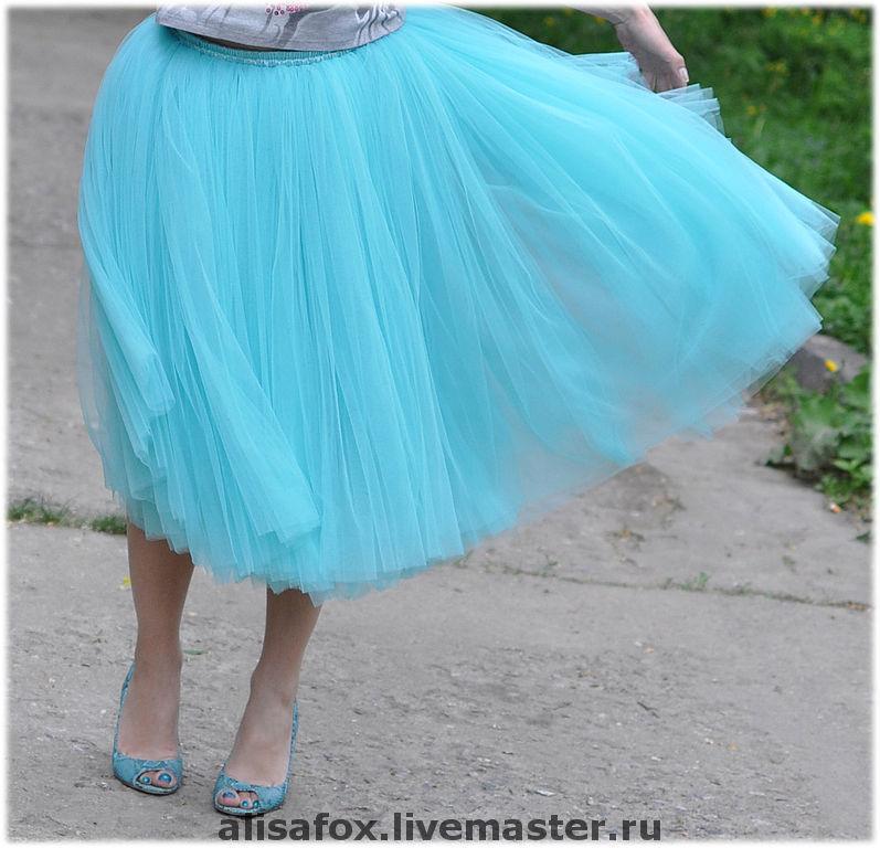 С чем носить юбка из фатина своими руками