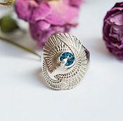 Украшения handmade. Livemaster - original item Silver ring with natural Topaz