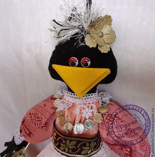 Кухня ручной работы. Ярмарка Мастеров - ручная работа. Купить Пакетница ворона  практичный подарок газетница порядок на кухне. Handmade.