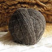 Материалы для творчества handmade. Livemaster - original item Yarns, wool, sheep-grey (1kg). Handmade.