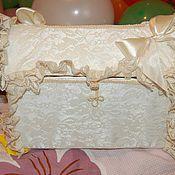 Свадебный салон ручной работы. Ярмарка Мастеров - ручная работа Свадебный сундучок. Handmade.