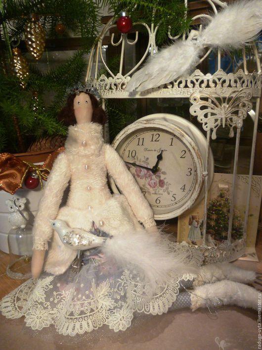 кукла тильда. тильда ангел. тильда ангел на коньках. зимний тильда ангел. кукла тильда. тильда. тильда фигуристка. текстильная кукла