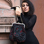 Сумки и аксессуары handmade. Livemaster - original item Knitting bag