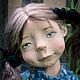 Коллекционные куклы ручной работы. Голубика. Мурашова Наталья. Ярмарка Мастеров. Living doll