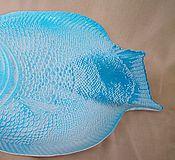 """Тарелки ручной работы. Ярмарка Мастеров - ручная работа Керамическое блюдо """"Рыба"""". Handmade."""