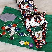 """Сувениры и подарки ручной работы. Ярмарка Мастеров - ручная работа Игрушка-подушка """"Радужный кот"""" казино. Handmade."""
