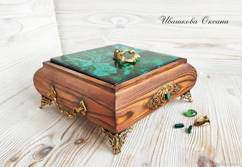 The malachite casket, Box, Vladivostok,  Фото №1