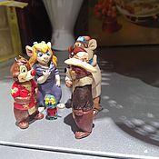 Куклы и игрушки ручной работы. Ярмарка Мастеров - ручная работа Чип и Дейл. Команда спасателей.. Handmade.